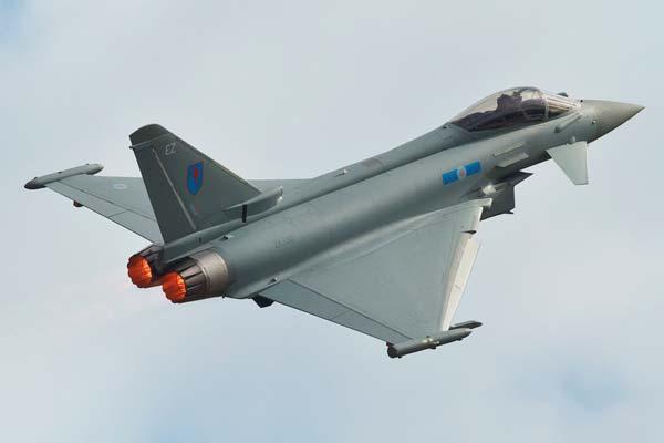 Avión cazabombardero Eurofighter Typhoon