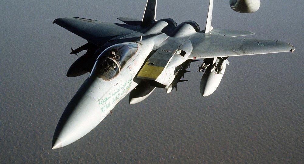 F-15 repostando