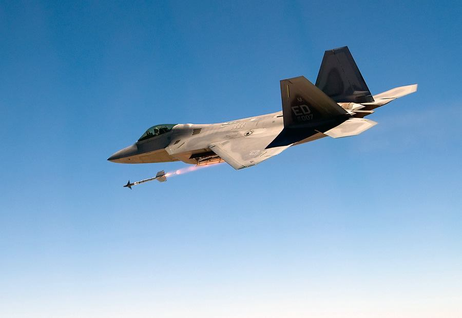 F-22 - Misil