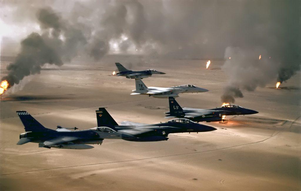 F-15 - Golfo Pérsico