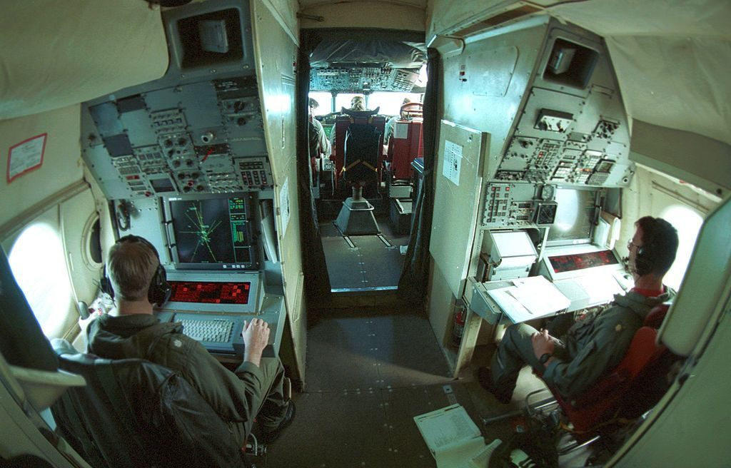 Avión Lockheed P-3 Orion Interior