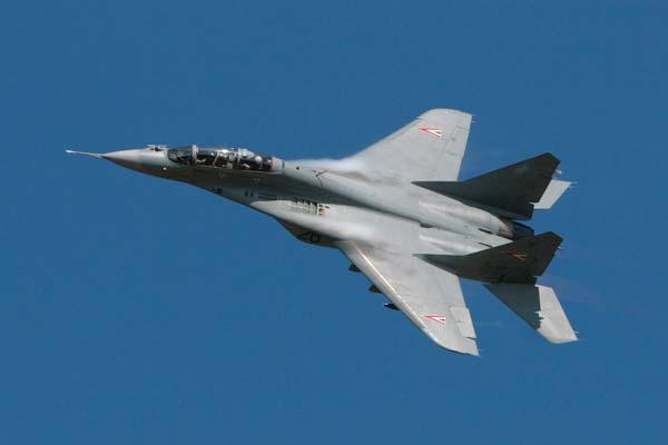 Avión caza Mikoyan Gurevich MiG-29