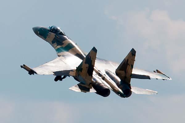 Caza Sukhoi Su-35 Flanker-E