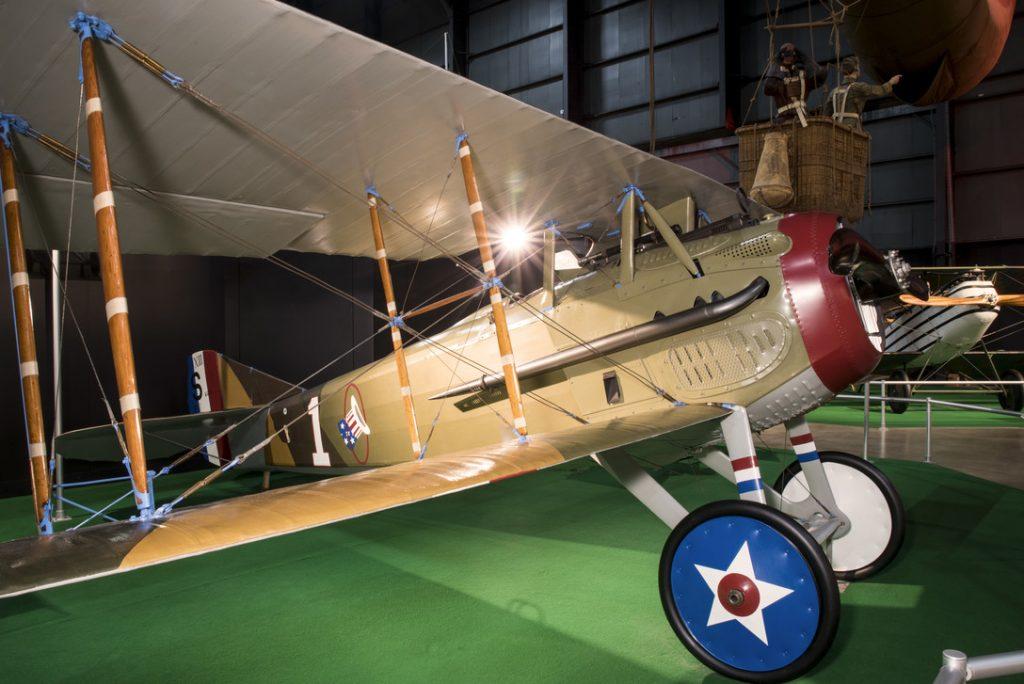 Avión de la IGM SPAD XIII