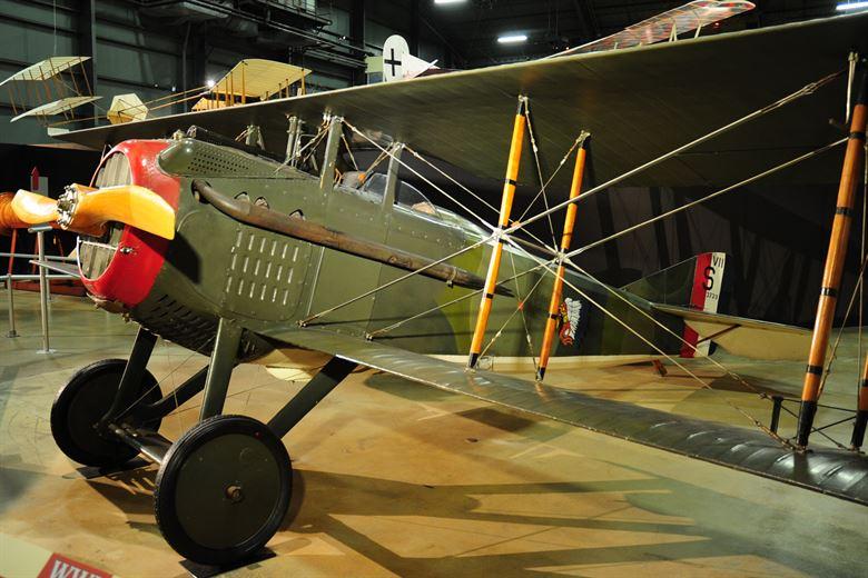 Ametralladora del avión SPAD