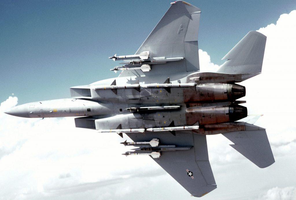 Armamento del avión Eagle