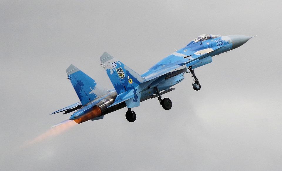 Armamento del avión Flanker