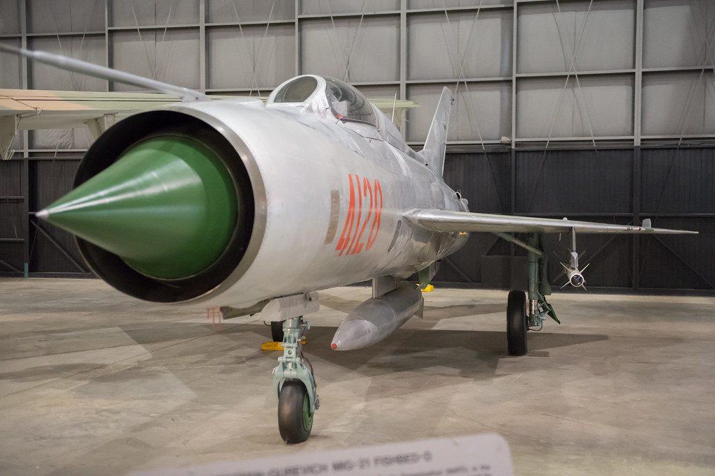 Armamento del caza ruso MiG Lancer