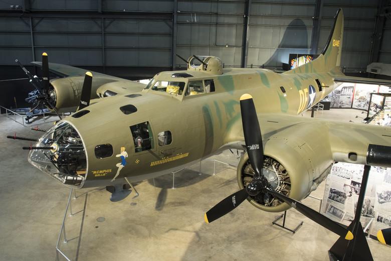 B-17 bombardero de la IIGM