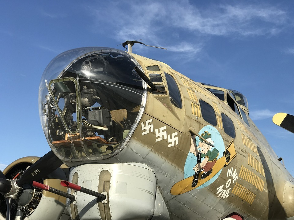 Cañón del Boeing B-17 Flying Fortress