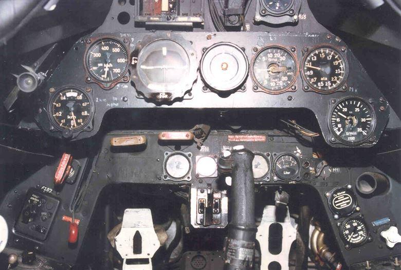 Cabina del Fw-190