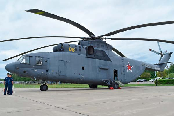 Helicóptero Mil Mi-26 Halo