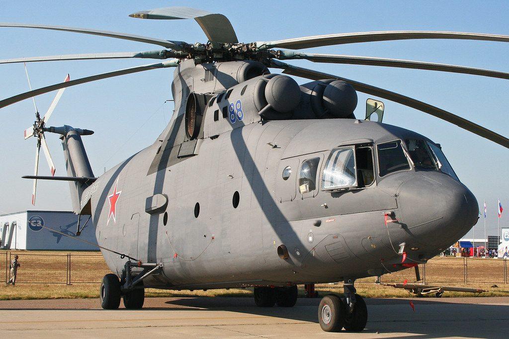 Helicóptero de carga Mi-26