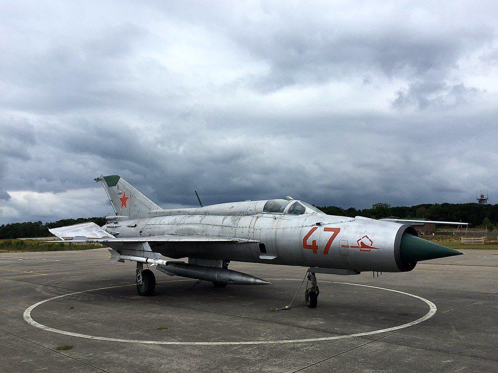 Imagen del MiG-21 Lancer