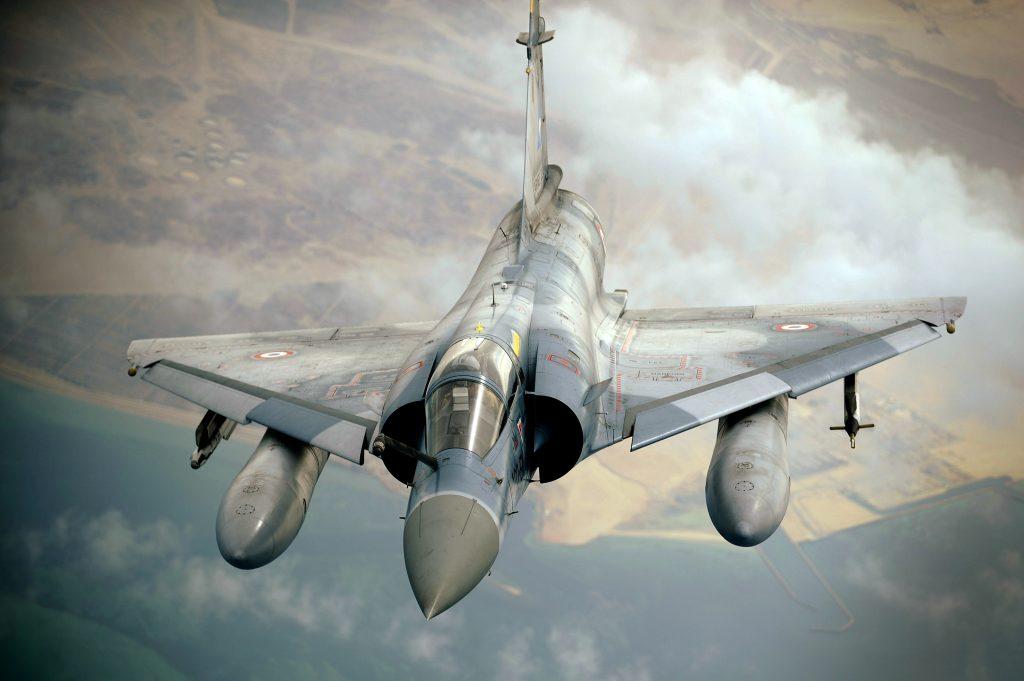 Motor del Mirage 2000 francés