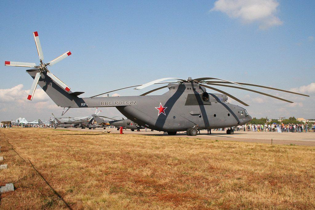 Motores Mil Mi-26 Halo ruso