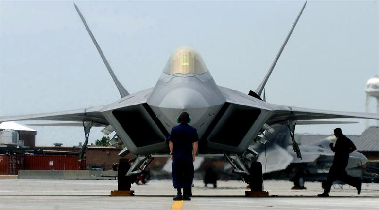 Motores del F-22 Raptor