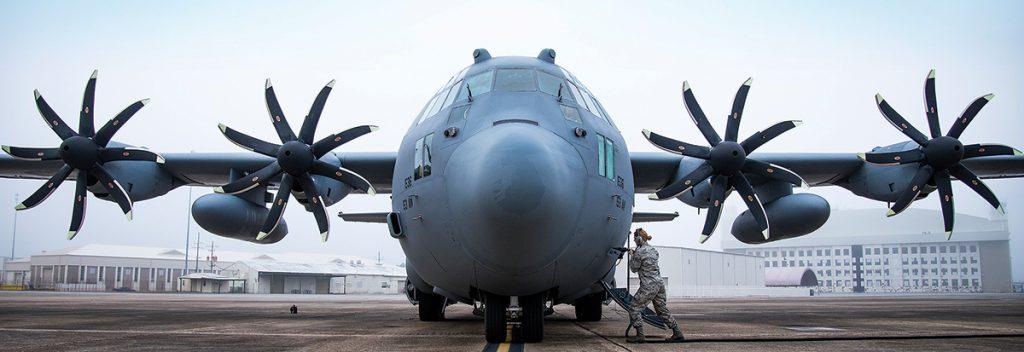 Motores del Hércules C-130