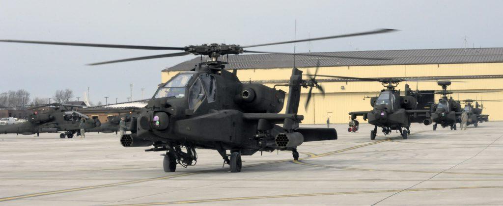 Motores del Helicóptero Apache AH-64
