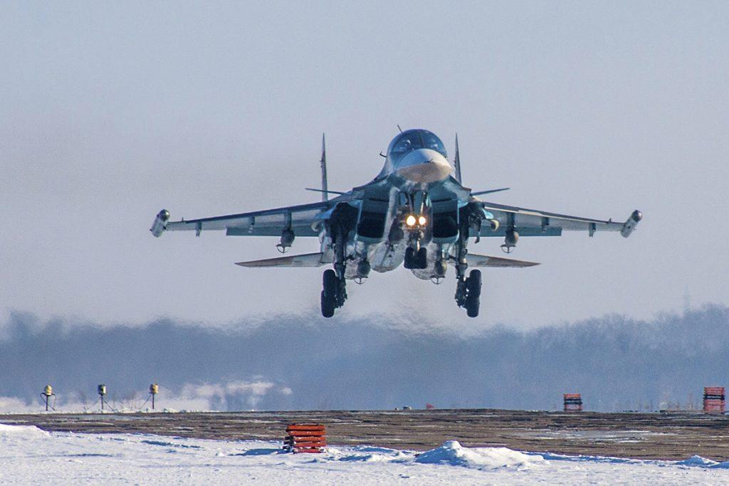Precio del avión ruso Su-27 (Su-34)
