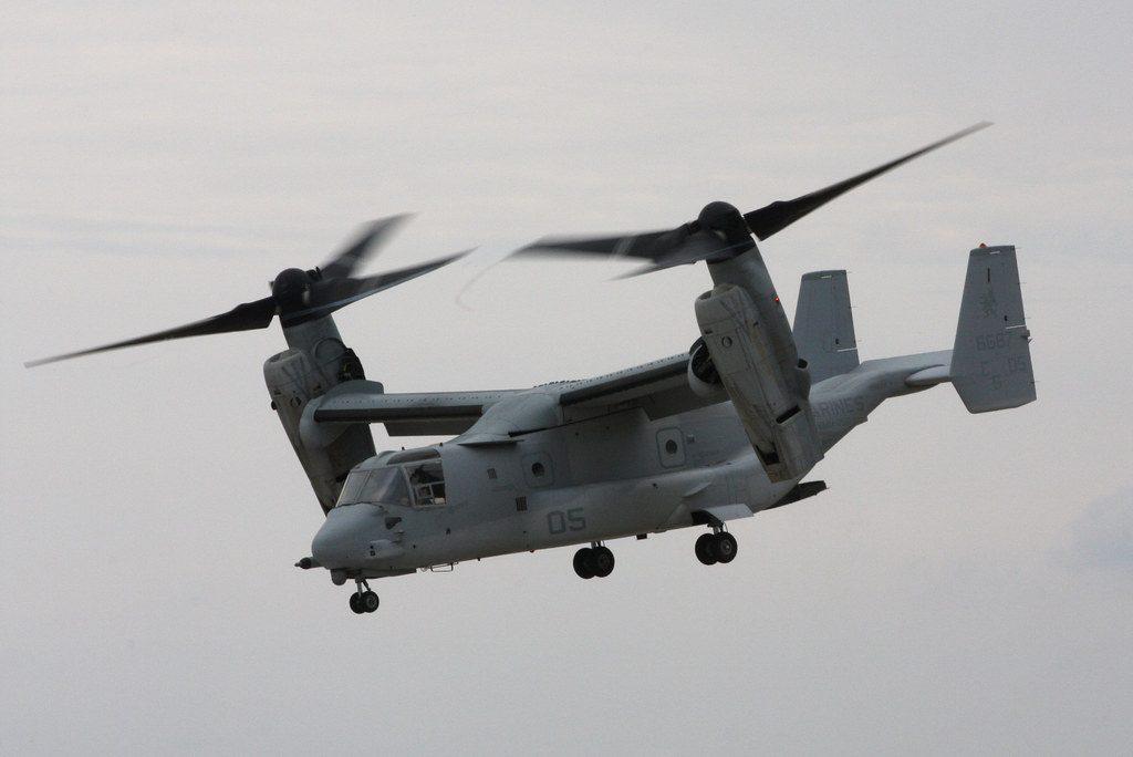 Precio helicóptero V-22 Osprey