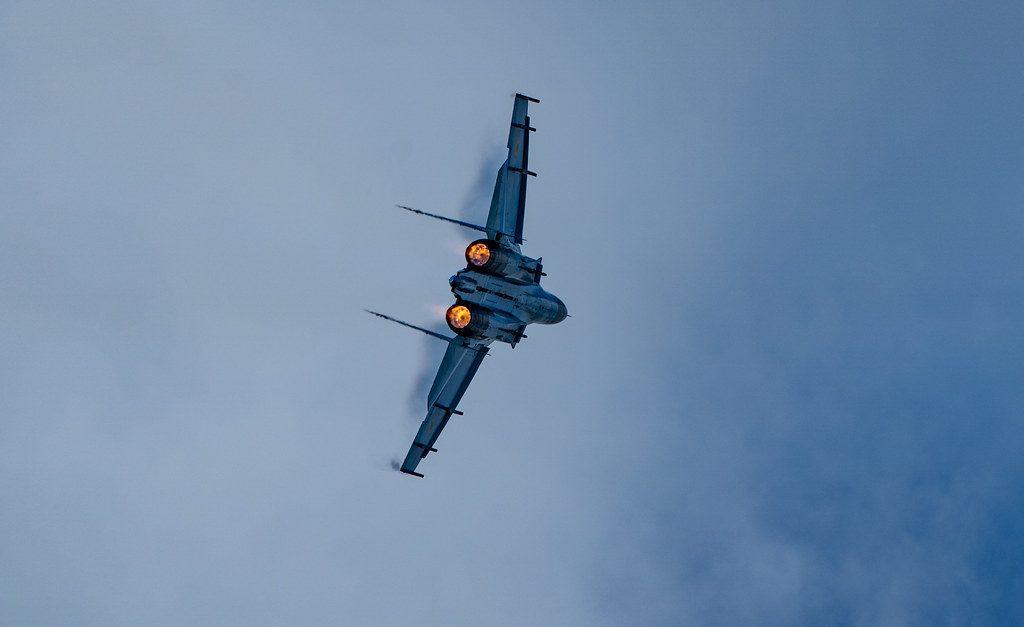 Velocidad del Sukhoi Su-27