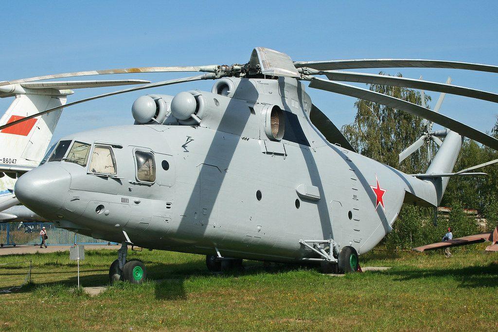Velocidad máxima del Mi-26