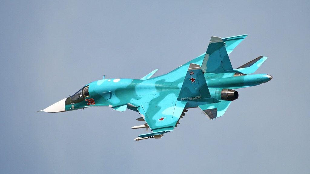 Armas del avión Su-34 ruso