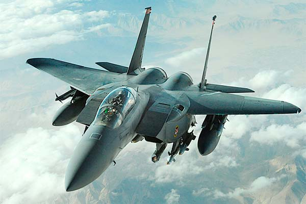 Avión F-15E Strike Eagle