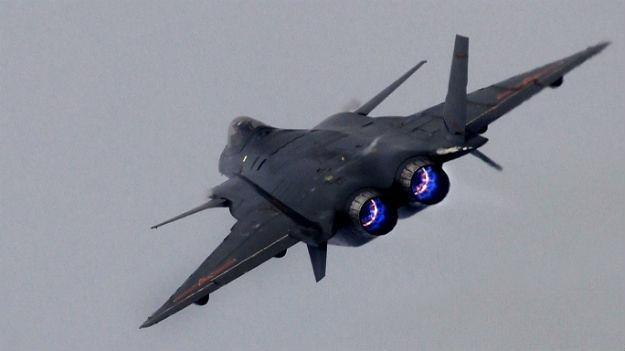 Motor del avión furtivo J-20